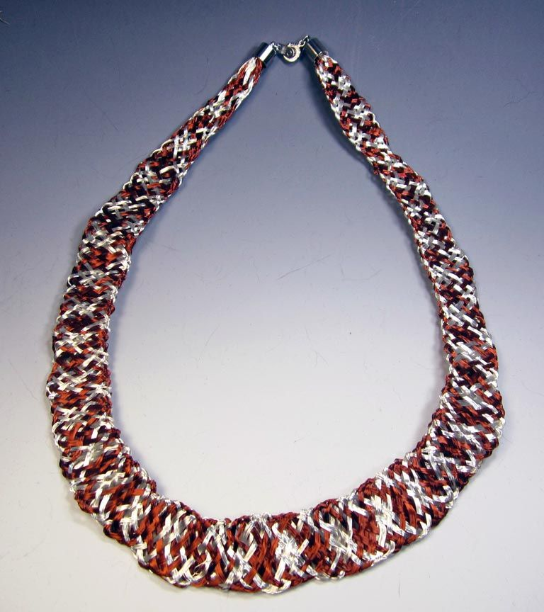 Wire Kumihimo - Working with Long Lengths with Jill Wiseman Level ...