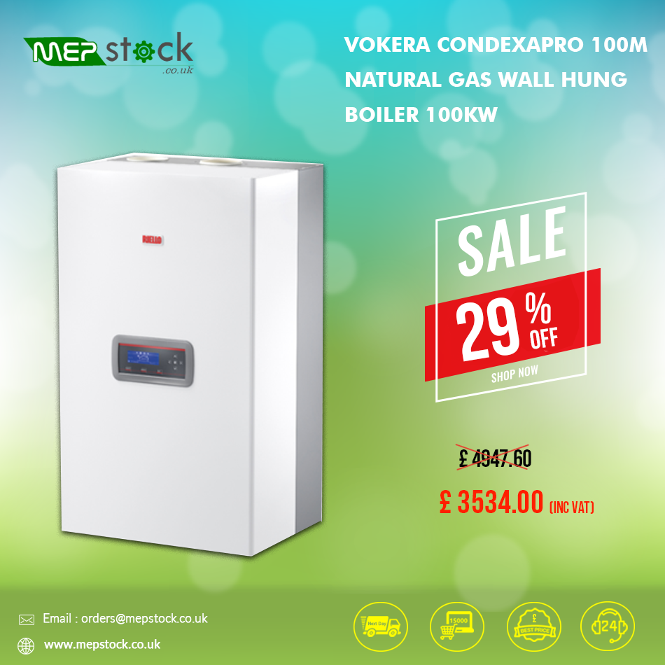 Feb Flash Sale Grab This Deal Get Flat 29 Discount On Vokera Condexapro 100m Natural Gas Wall Hung Boiler 100kw To Know More Visit Wall Hanging Gas Boiler