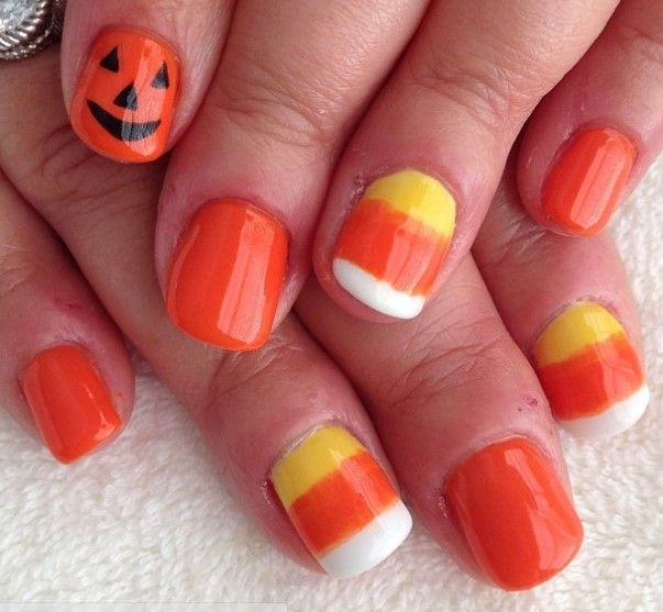 25 scary halloween nail art ideas and designs 2015 inspiring - Easy Cute Halloween Nail Designs