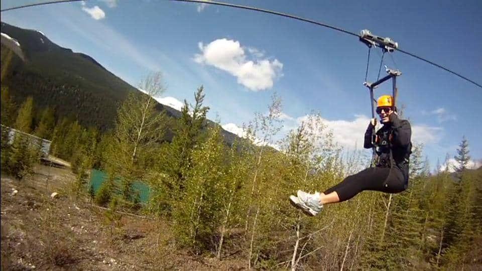 Zip Lining Ziplining Natural Landmarks Travel