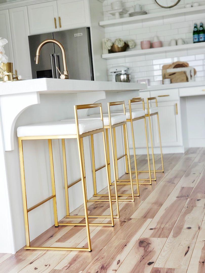 Kitchen Update Bar Stool Edition White Lane Decor Kitchen Table Wood Stools For Kitchen Island Kitchen Stools Bar stools white kitchen