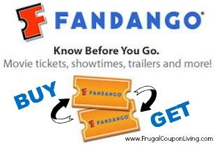 B1g1 Fandango Tickets Two Movie Tickets For The Price Of One On