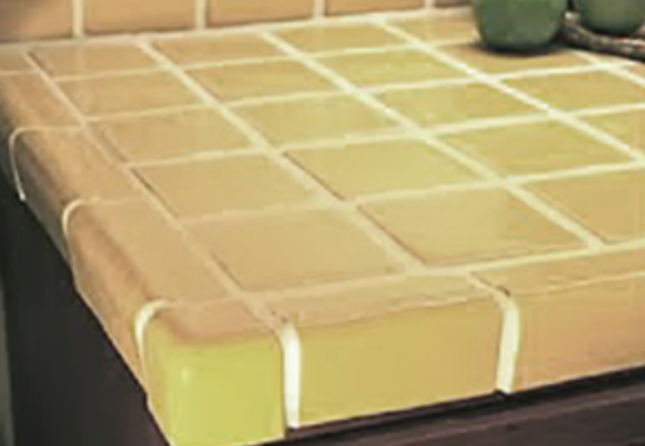 How To Paint A Ceramic Tile Countertop Tile Countertops