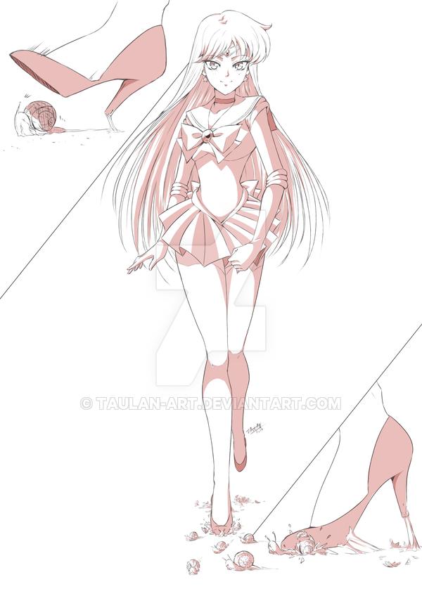 Sailor Mars Commission by Taulan-art on DeviantArt