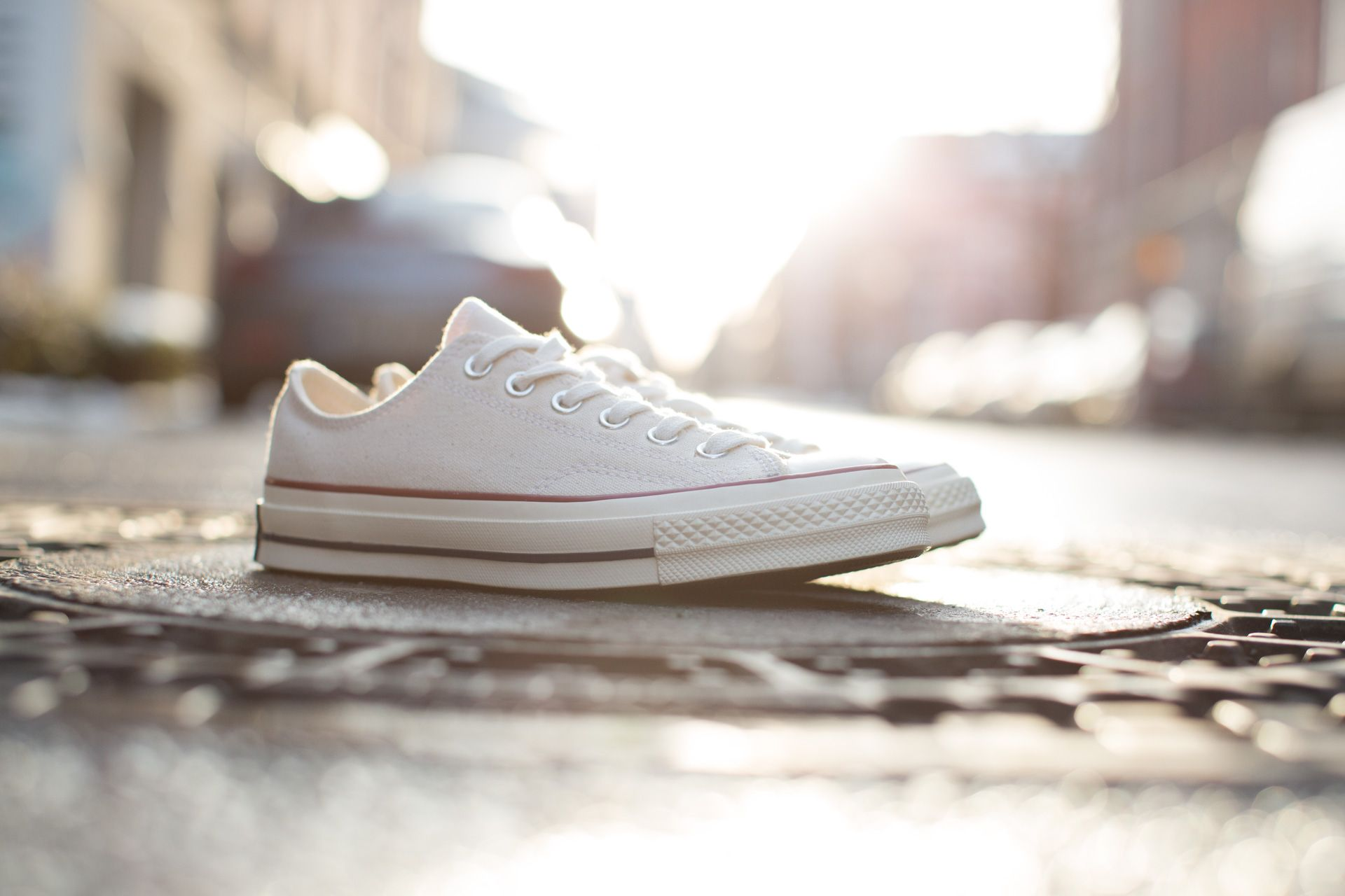 04557f6e884 CONVERSE CHUCK TAYLOR ALL STAR '70 OX PARCHMENT available at  www.tint-footwear