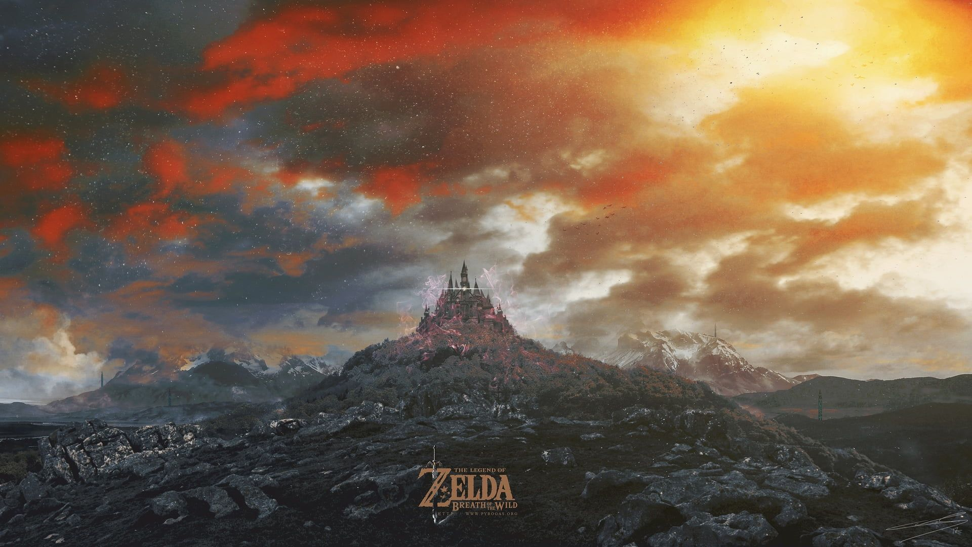 The Legend Of Zelda Wallpaper Castle The Legend Of Zelda Breath