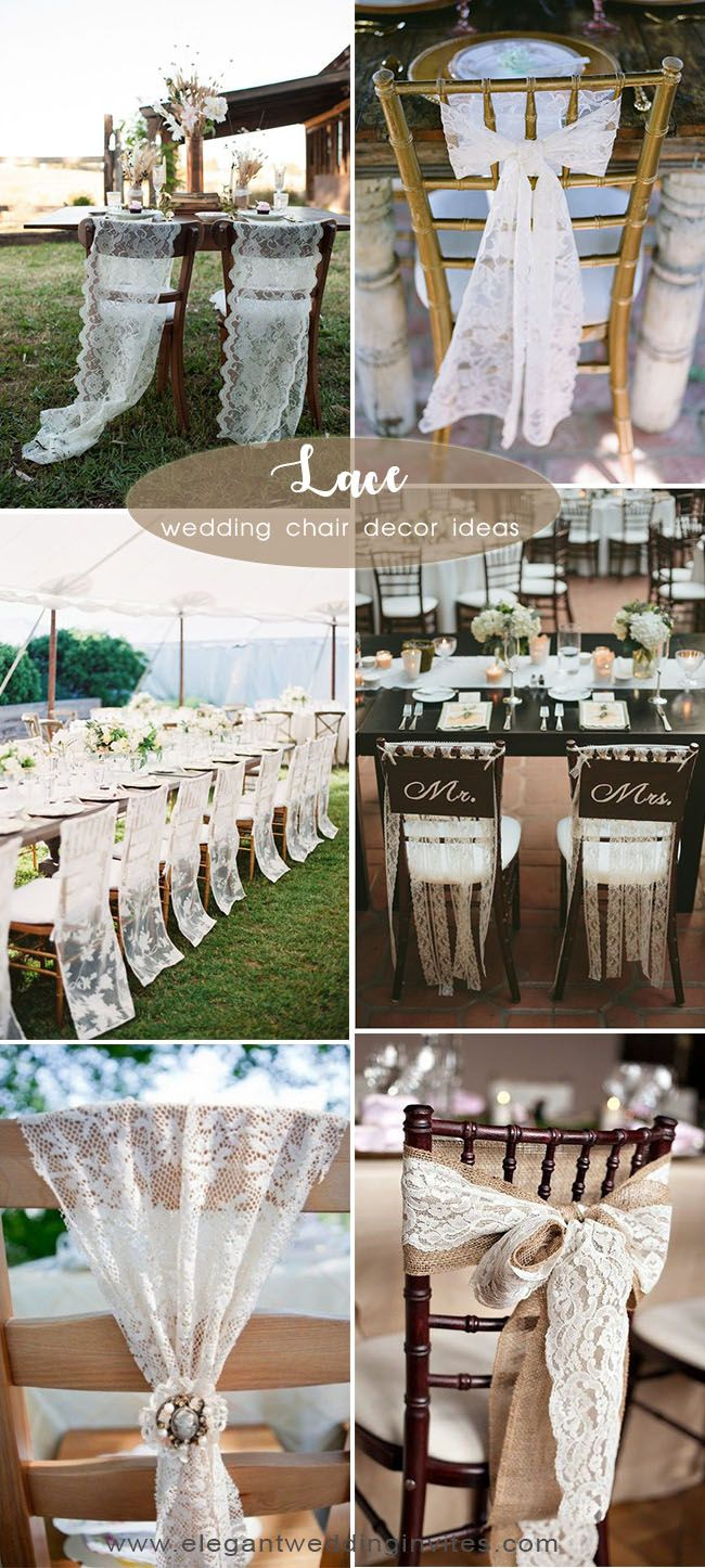 45 Awesome Ideas To Decorate Your Wedding Chairs Wedding Chairs