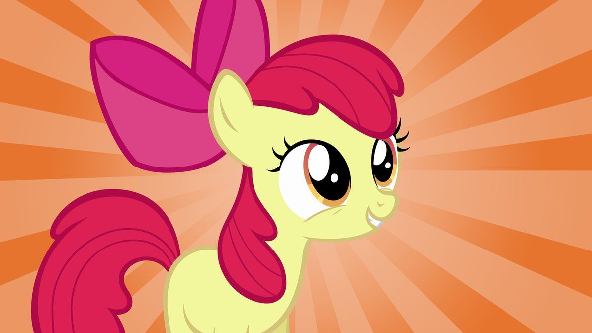 Apple Bloom My Little Pony; Adorable!!! | Cutie Mark ...