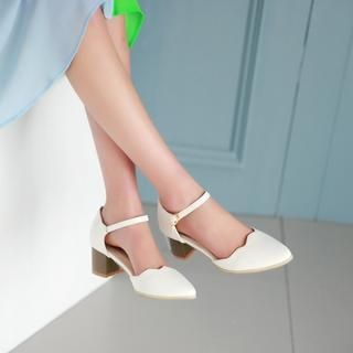 Buy 'Pangmama – Ankle-Strap Pointy Pumps' with Free International Shipping at YesStyle.com. Browse and shop for thousands of Asian fashion items from China and more!