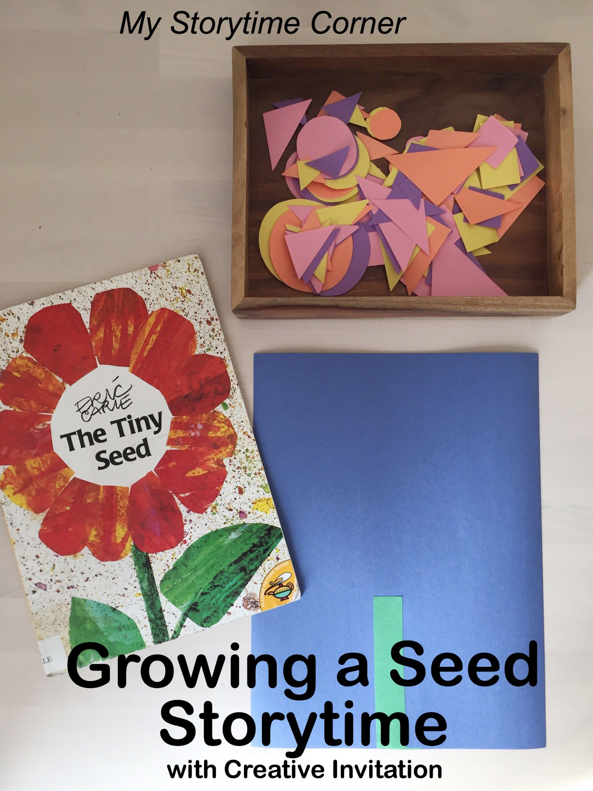 growing a seed storytime