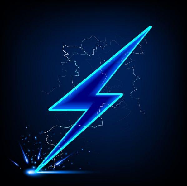 Lightning Icon Bright Sparkling Design 6829691 Jpg 600 597 Papel De Parede Flash Logotipo Automotivo Papel De Parede Para Telefone