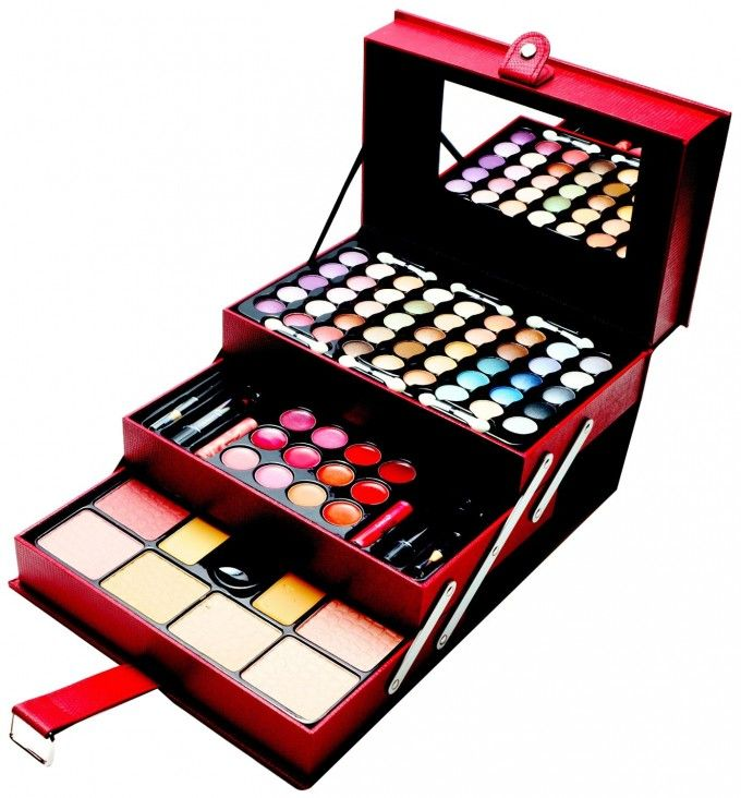 makeup kit for teenage girls. cameo all in one makeup kit (eyeshadow palette, blushes, powder and more) for teenage girls r