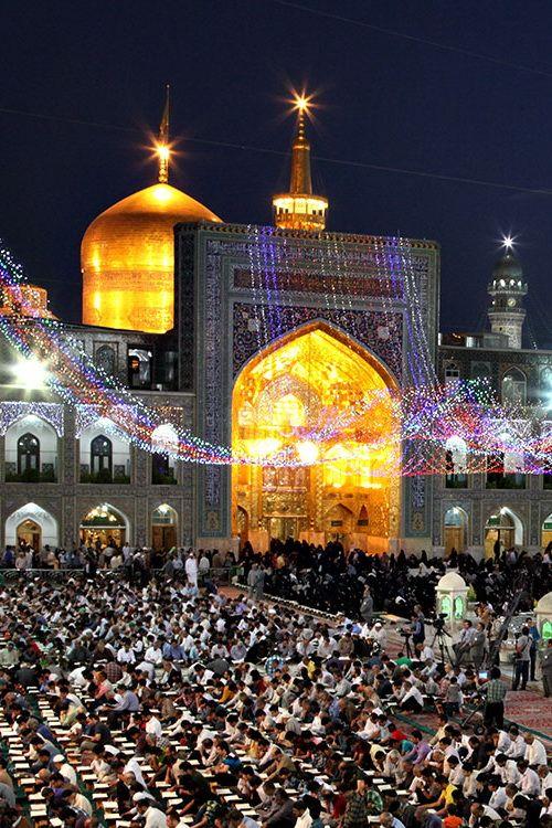 Imam Reza shrine, Mashhad, Iran