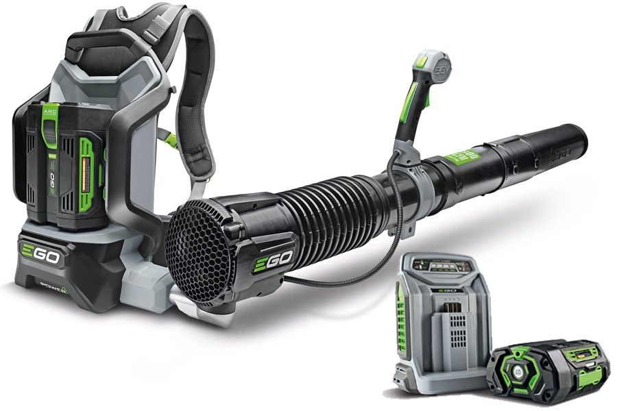 e0d340c5bd EGO Power+ LB6002E 56V Lithium-Ion Cordless Backpack Leaf Blower (with 5Ah  Battery   Charger)