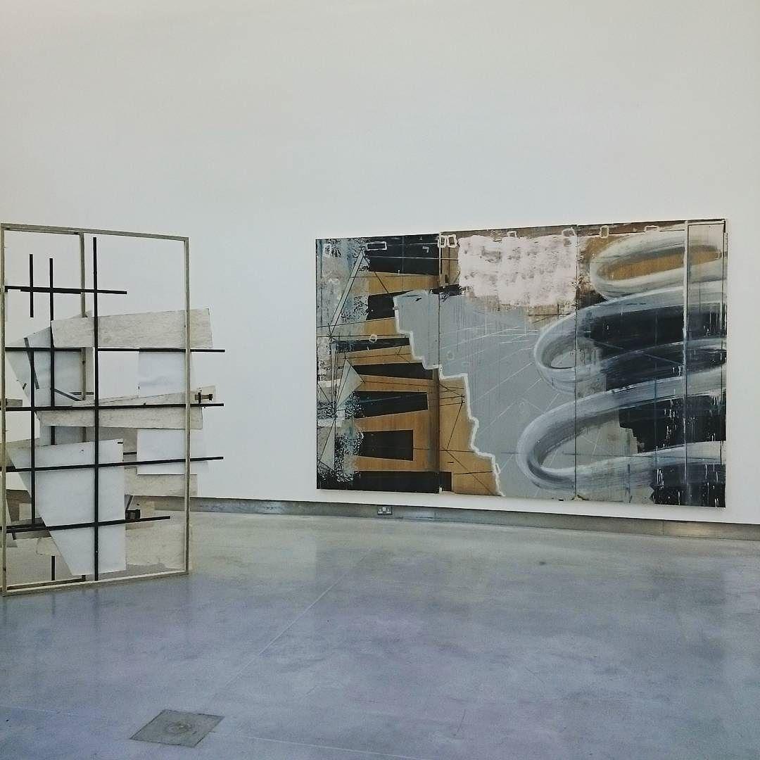 Neil Carroll's 'Open Ground 2016' and 'Permeation 2016' in Carnage Visors.  #art #arte #carnagevisors #paulmcaree #neilcarroll #neilcarrollpaintings #painting #exhibition #dublin #gallery #contemporary #fineart neart