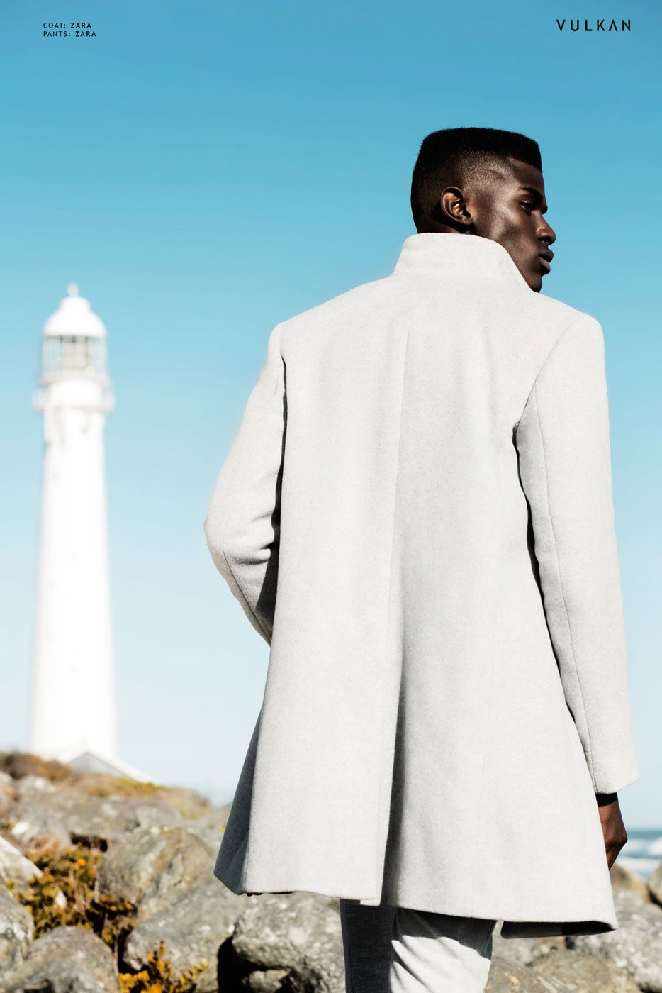 Photographer : Garreth Barclay Stylist : Daniella Capriati Model : Samuel Mukhuwana