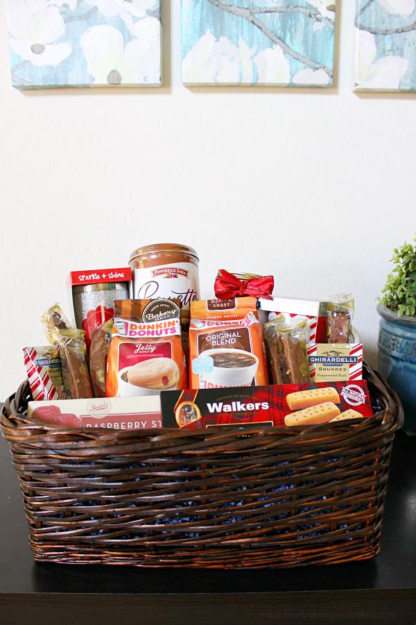 Coffee Lover's Gift Basket Coffee gift baskets, Coffee