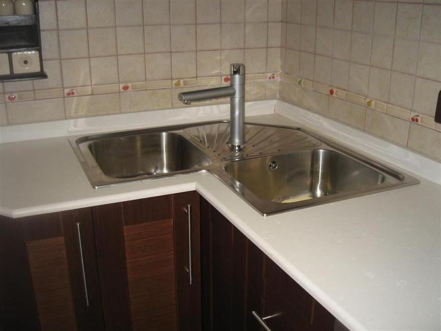 Fregadero de rinc n en inox ideas casa pinterest - Muebles para fregaderos ...