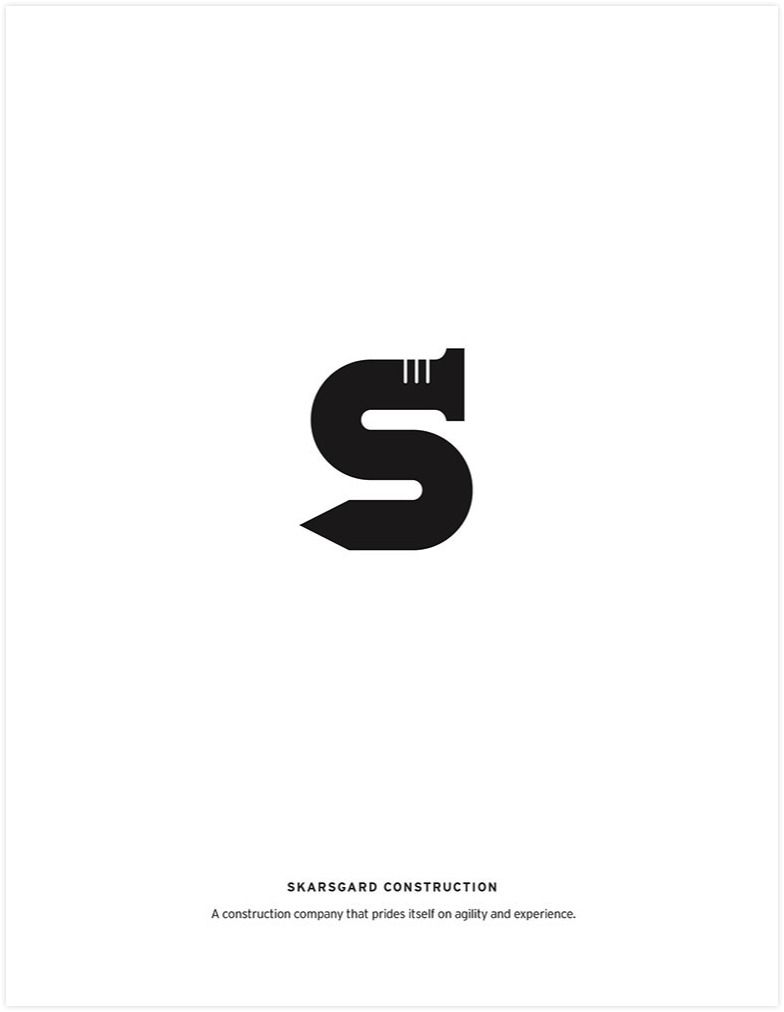skarsgard construction logo | Logo\'s | Pinterest | Construction logo ...
