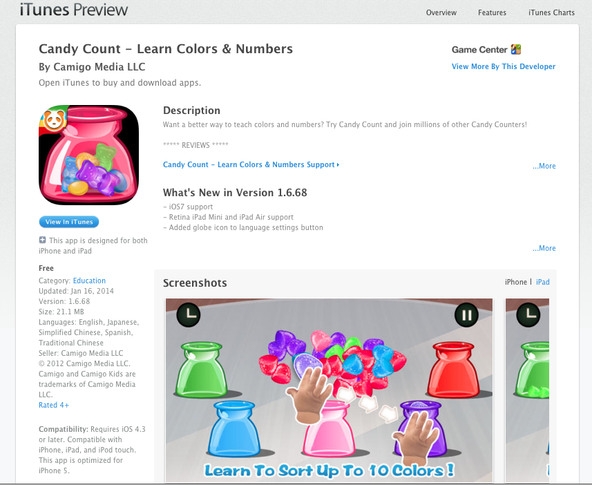 Img 13 Teaching Colors Learning Colors Itunes Charts