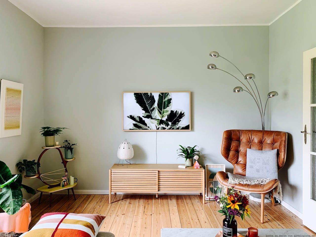 Farbfreude Sarahs Wohnzimmer In Pastellgrün Kolorat Wandfarbe Wohnzimmer Wohnzimmer Farbe Zimmer Streichen Ideen