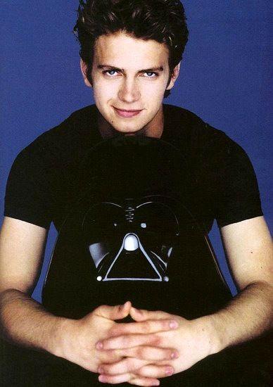 Star Wars  -  Hayden Christensen  Another Smirk Vader Gotta love him :)