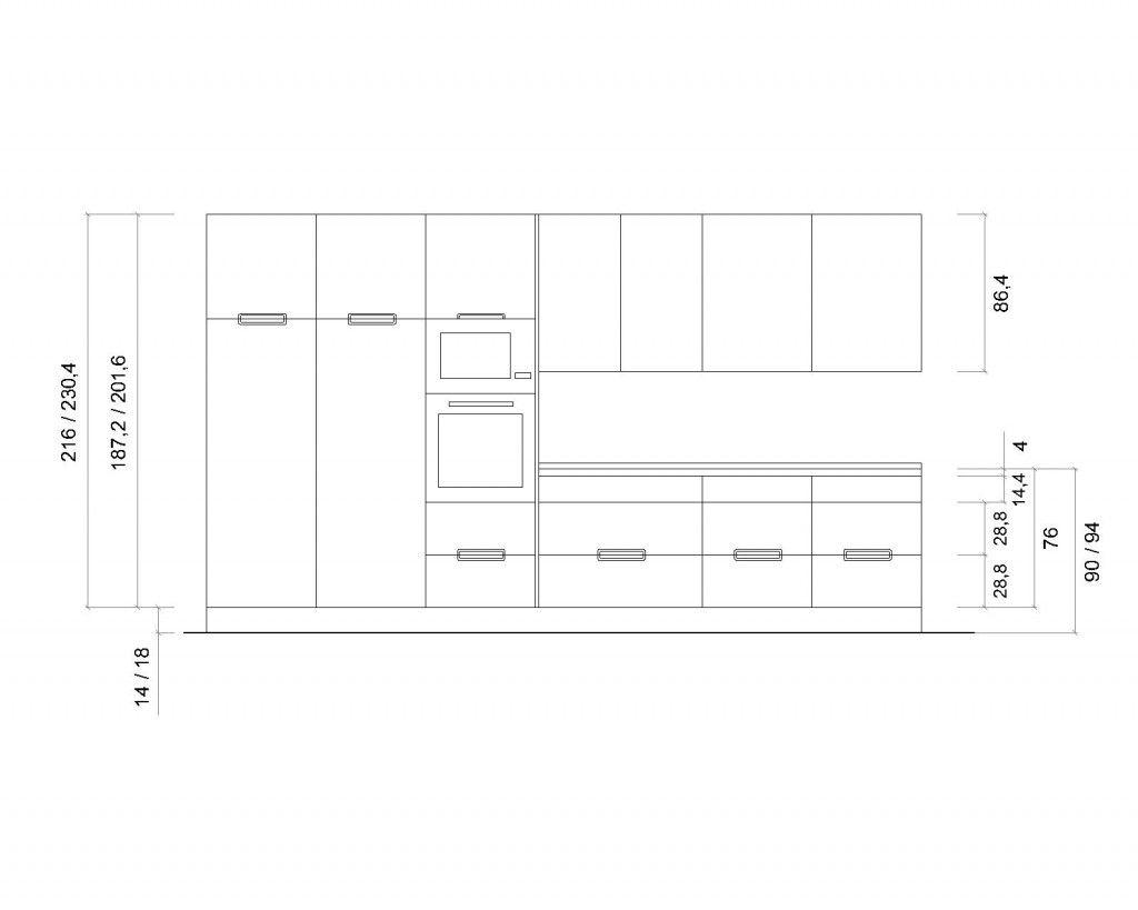 Entrada 3 altura gt cocinas pinterest entrada - Altura de muebles de cocina ...