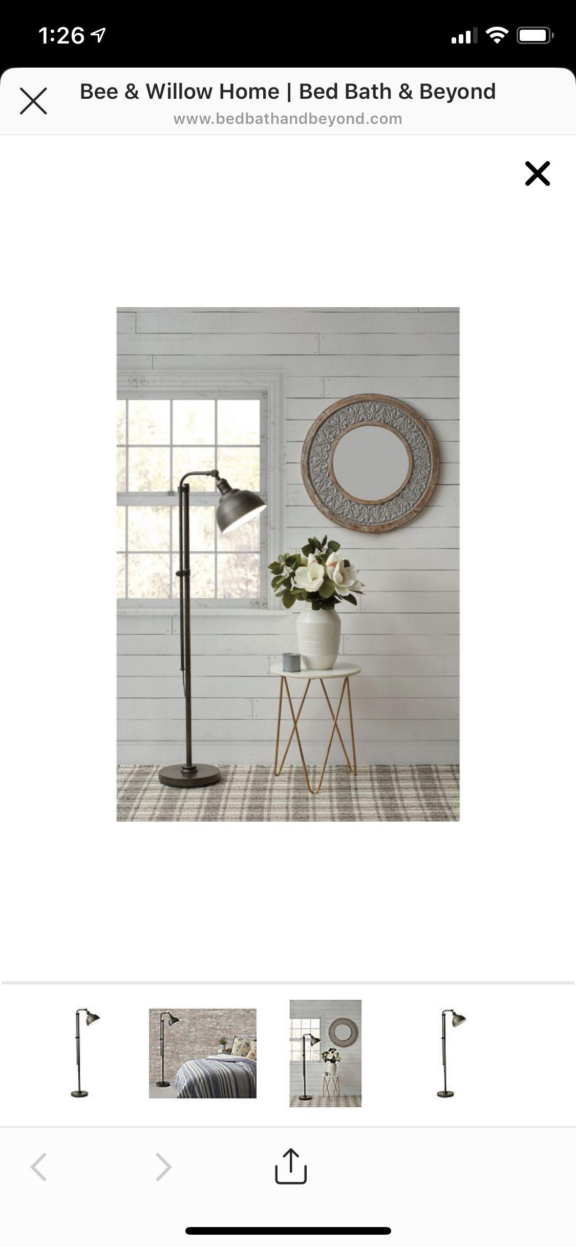 Black Floor Lamp Bed Bath And Beyond