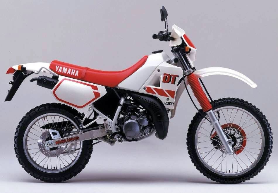 dt 200 yamana dt pinterest scrambler rh pinterest com CDI for Yamaha WR 200 1985 Yamaha 180