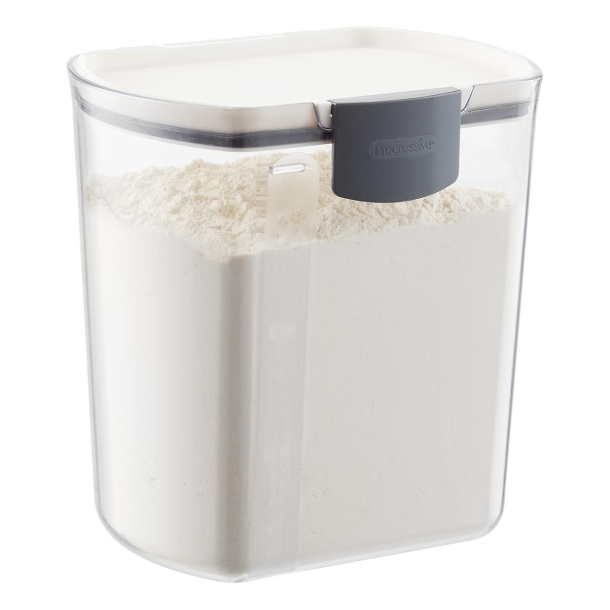 Prokeeper 4 Qt Flour Container Flour Container Dry Food Storage Flour Storage Container