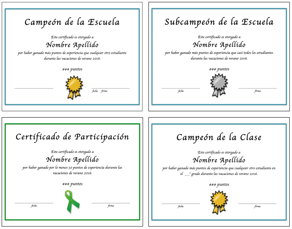 Fully editable certificates in spanish to reward your students i fully editable certificates in spanish to reward your students i use them for our 1betcityfo Gallery