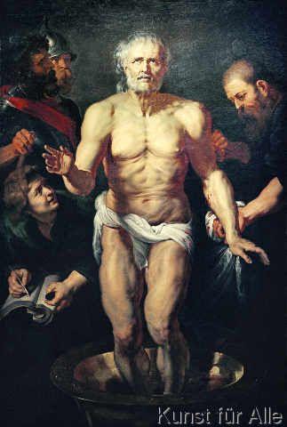Peter Paul Rubens - Der sterbende Seneca