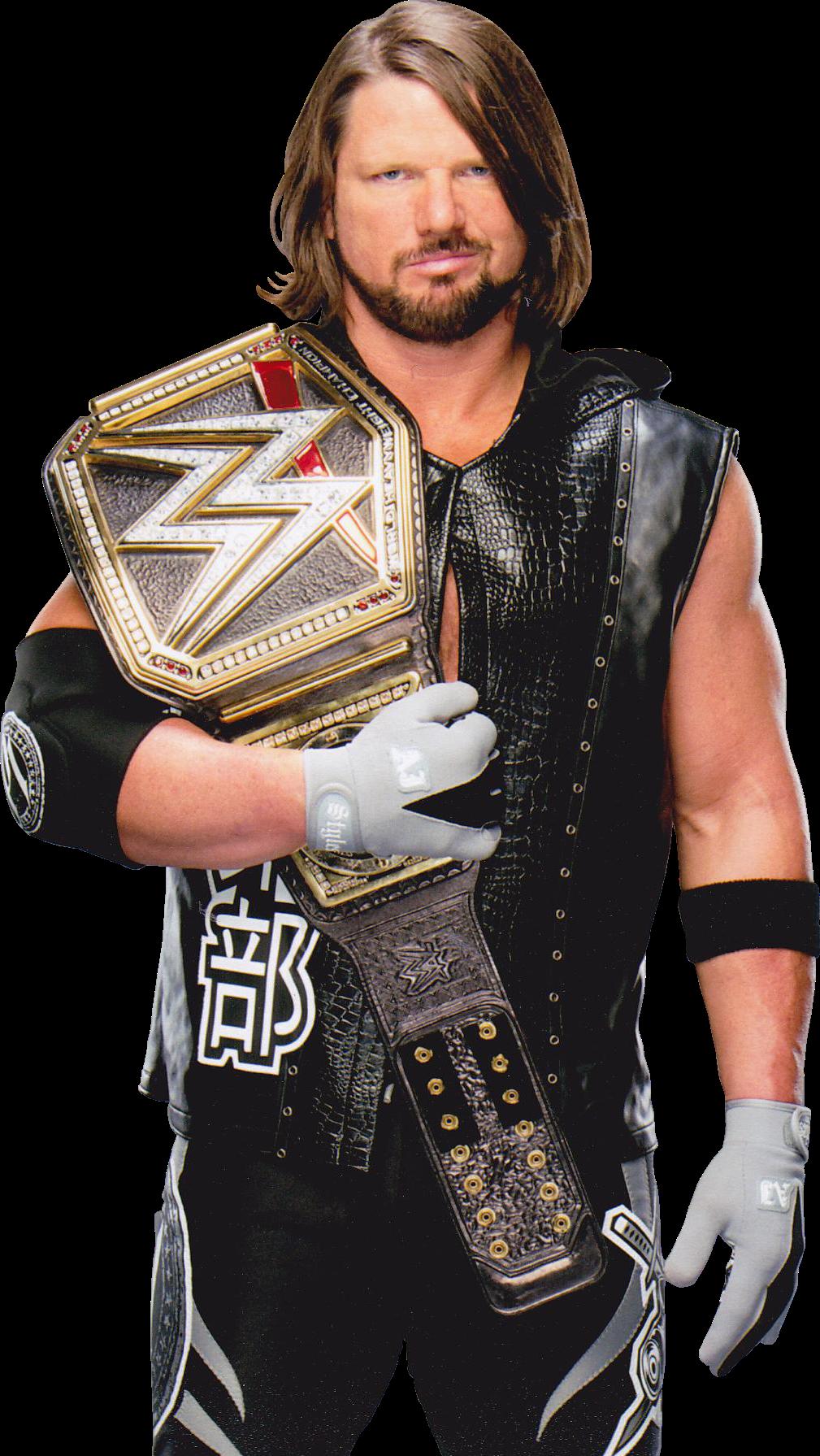 Styles Aj Styles Wwe Aj Styles Wwe Champions
