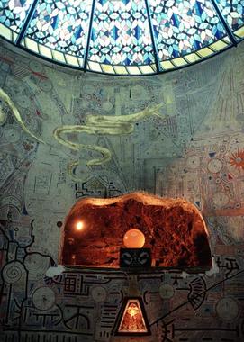Temple of Damanhur                        Massive subterranean temple built in secret