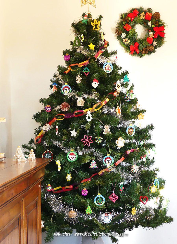 Déco de Noël homemade - Mon sapin en mode fait maison ...