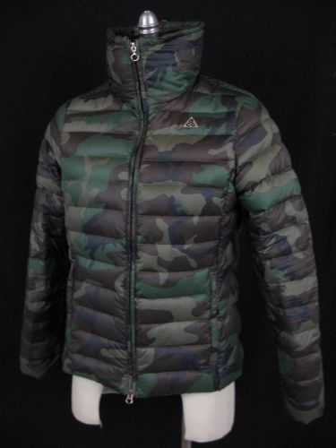 c45cb492 Nike ACG 800 GOOSE Down Fill Military Camo Special Forces Coat Jacket Womens