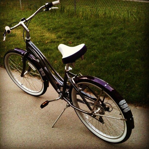 Summer Transportation My Raleigh Retroglide 7 Speed Beach Cruiser Bike Bicycle