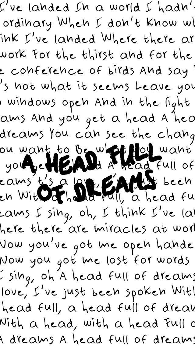 Lyric coldplay viva la vida lyrics : A Head Full of Dreams - Coldplay … | Pinteres…