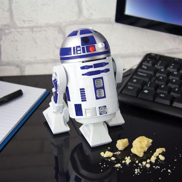 This R2 D2 Desktop Vacuum That Ll Keep Your Sloppiness To A Minimum Star Wars Gadgets Star Wars R2d2 Vacuums