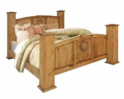 Texas Star Texas Star King Bed By Rustic Specialists Bed Next Bedroom Queen Beds