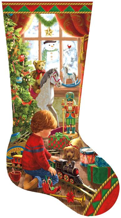 A Boy\u0027s Stocking\