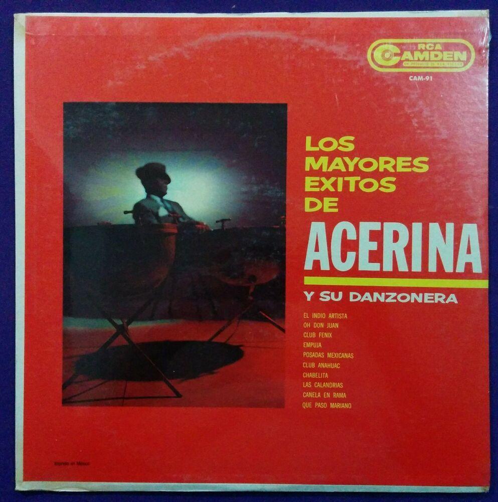 Acerina Y Su Danzonera Los Mayores Exitos Sealed Mint Mexico Issue Bolerodanzon Exito Musica Latina Posadas Mexicanas