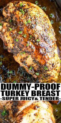 Roast Turkey Breast (One Pan) -   18 turkey breast recipes oven bone in ideas