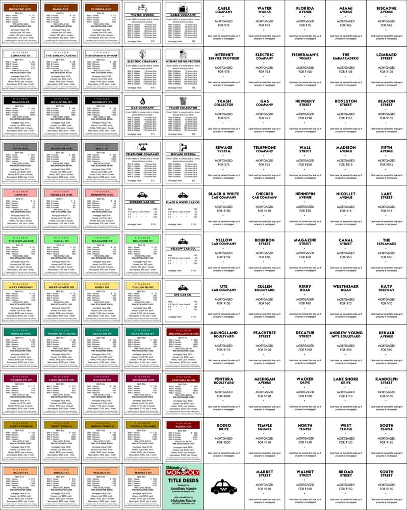 monopoly | MINI MINI MARKET | Pinterest | Miniatur, Holz basteln und ...