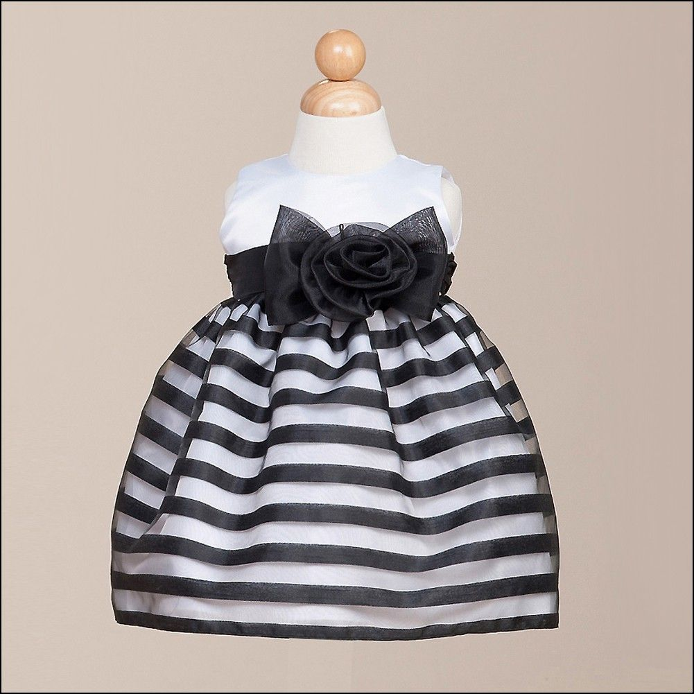 Black and white baby girl dresses dresses and gowns ideas