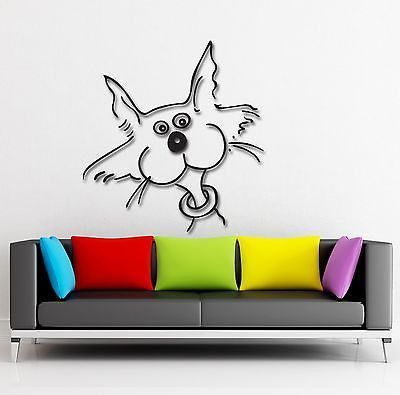 Wall Stickers Vinyl Decal Funny Cat Animal Pet Decor For Kids Room - Vinyl decal cat pinterest