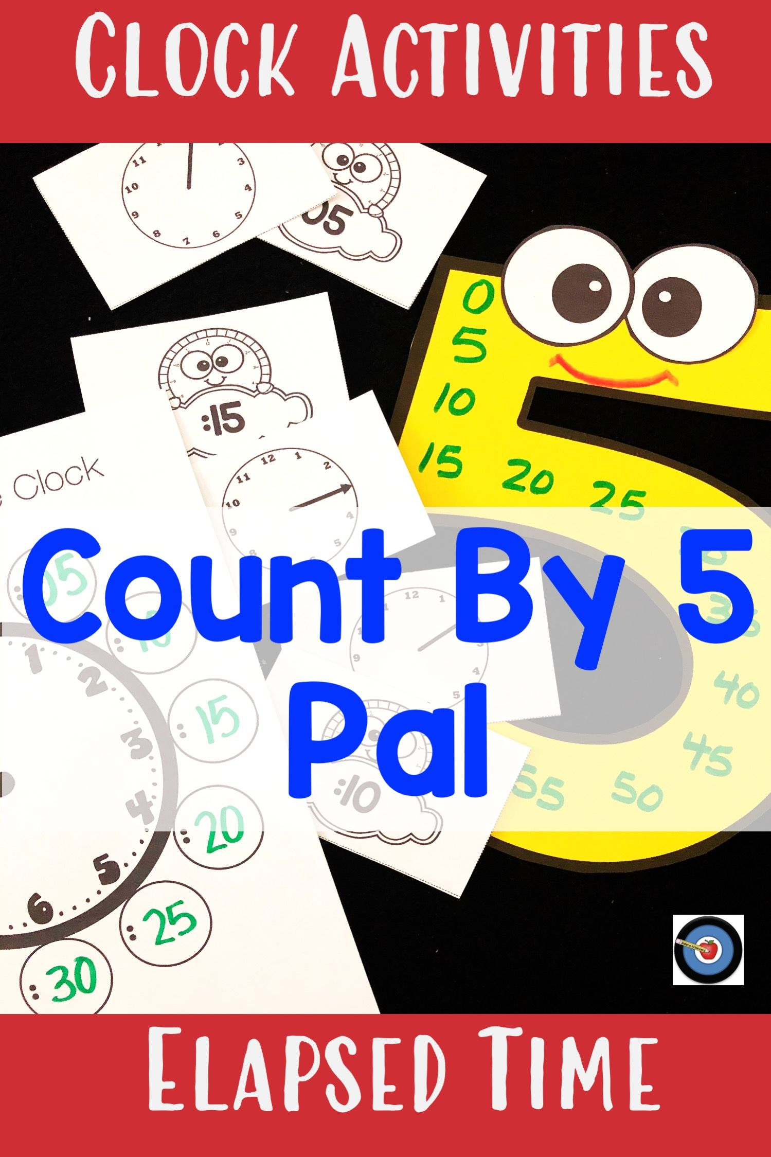 Clocks Elapsed Time Activities And Craft In