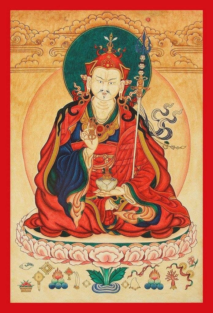 Pin by Manson Theam on guru rinpoche | Tibetan art, Buddhist