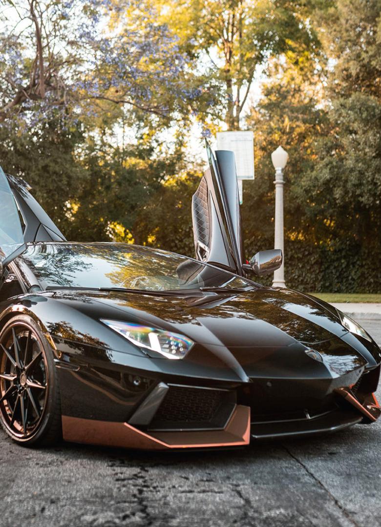 Lamborghini Aventador Black  #lamborghiniaventador