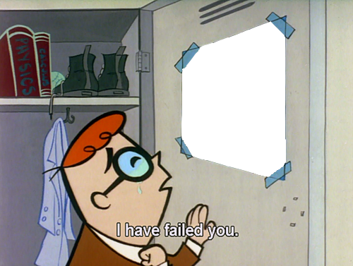Dexter I Have Failed You Base By Ryanthescooterguy Meme Template Create Memes Blank Memes